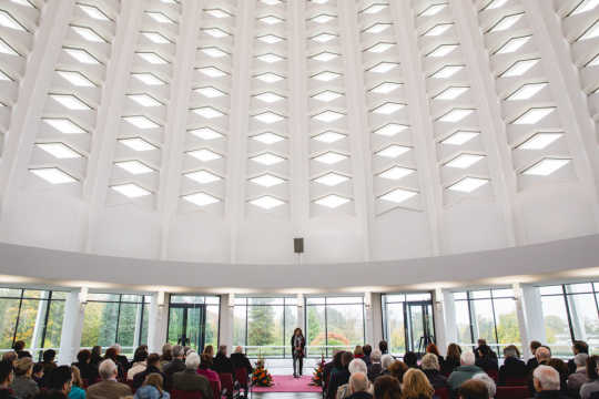 Commemorations at Bahá'í House of Worship include choral music