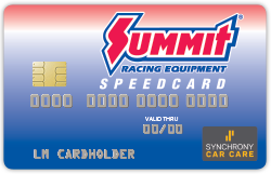 Summit Racing Speedcard