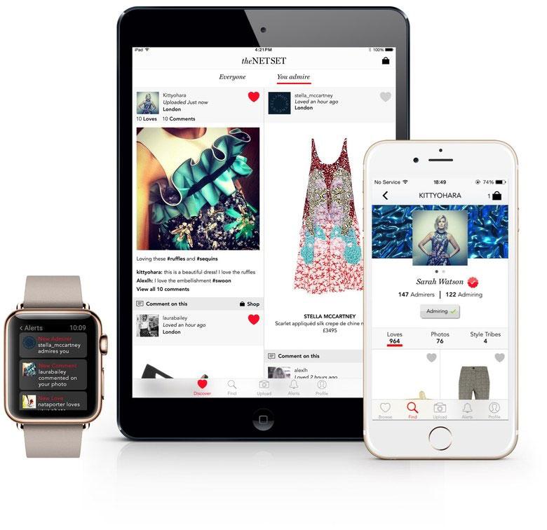 IWD/ Social merchandising: The-Net-set