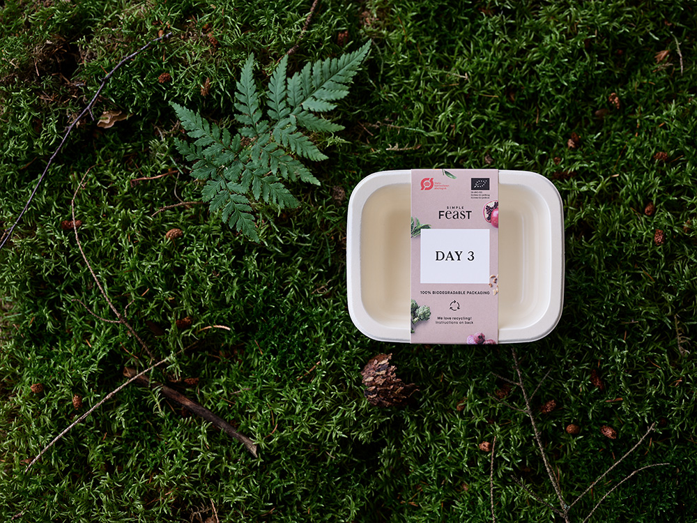 Sustainable packaging - Simple Feast