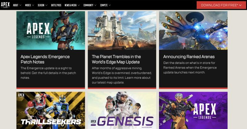 Apex Legends News