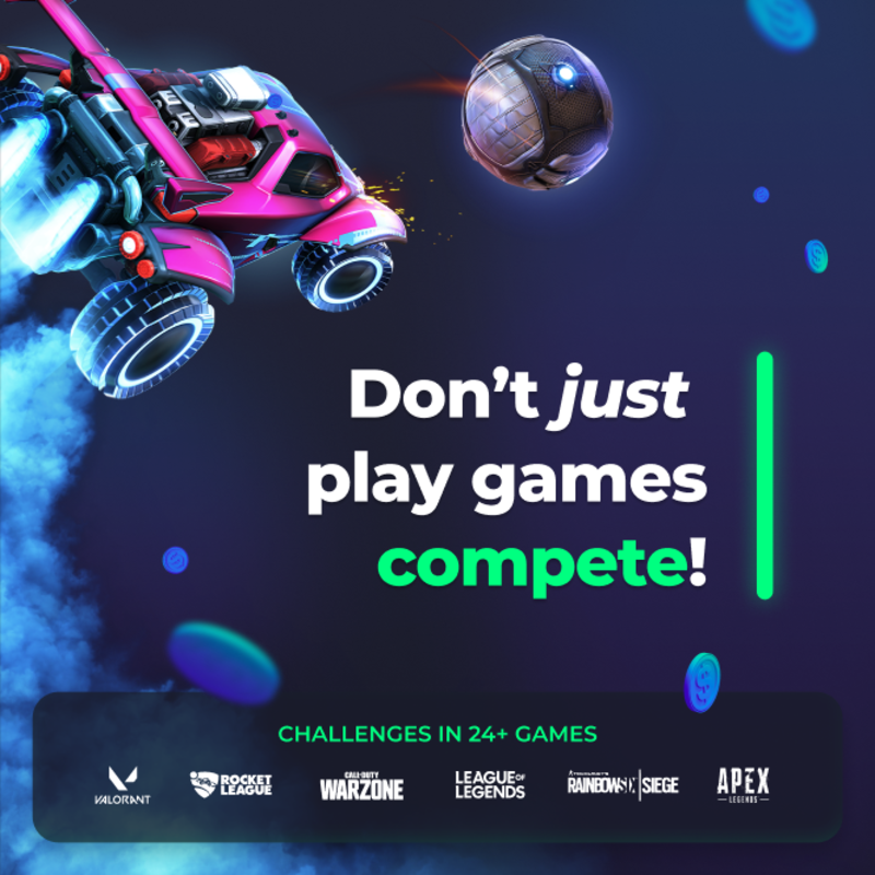 Don't just play games – compete!