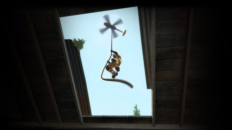 CS:GO helicopter