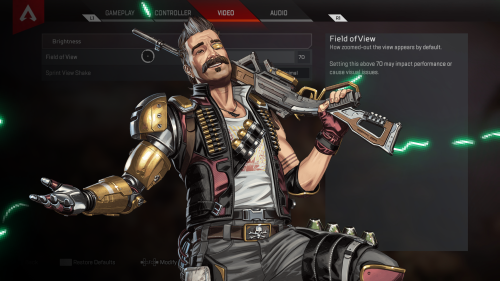 The best Apex Legends settings for competitive play