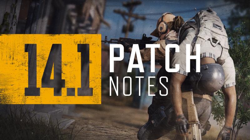 PUBG 14.1 patch notes