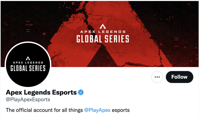 Apex Legends Esports Twitter
