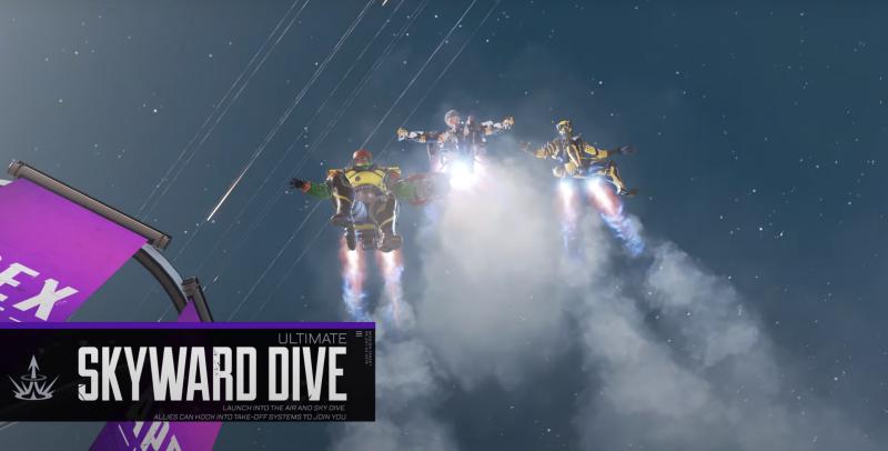 Apex Legends Valkyrie Skyward Dive