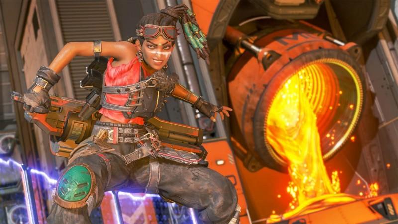 Apex Rampart molten metal