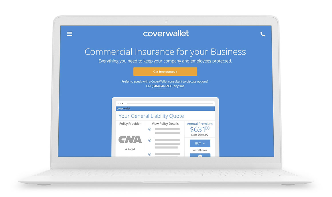 Zurich Insurance Groups invests in CoverWallet