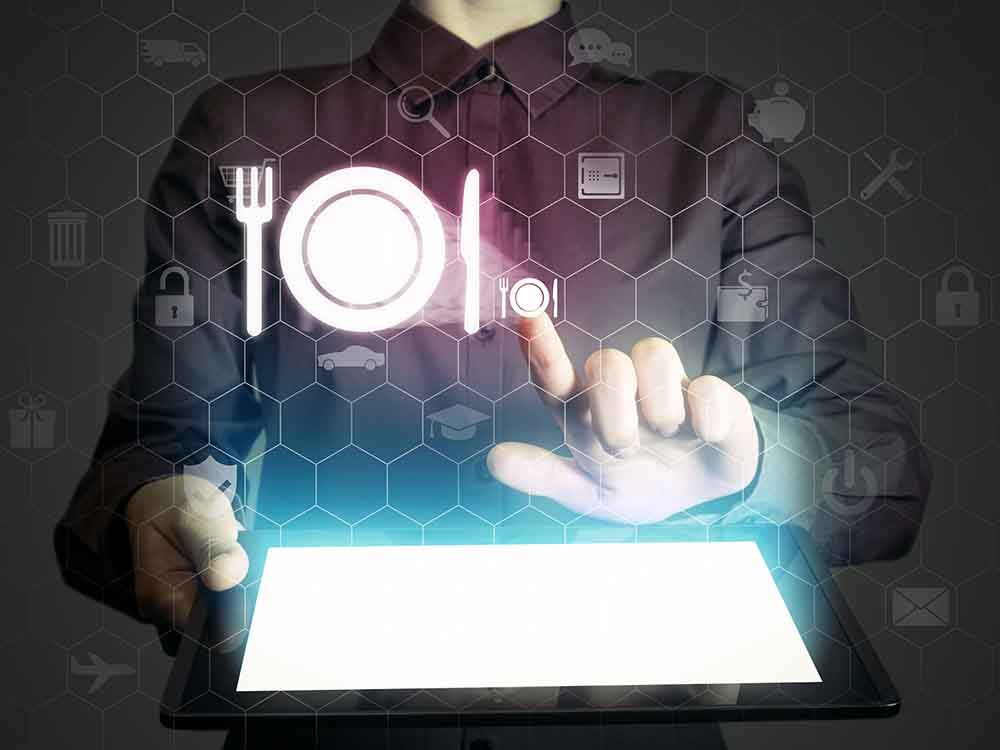 Technology used in restaurant business