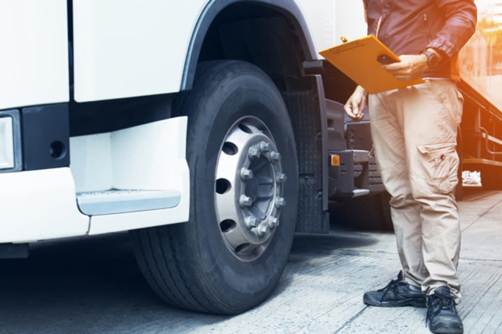 Truck driver injury prevention