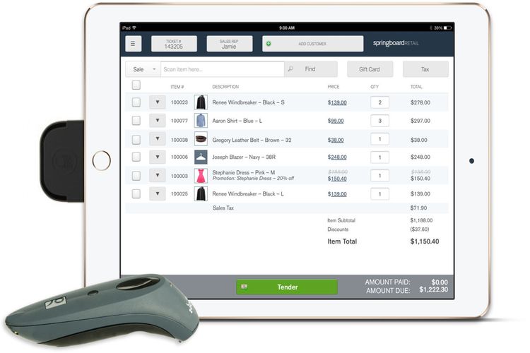 Springboard retail pos systems