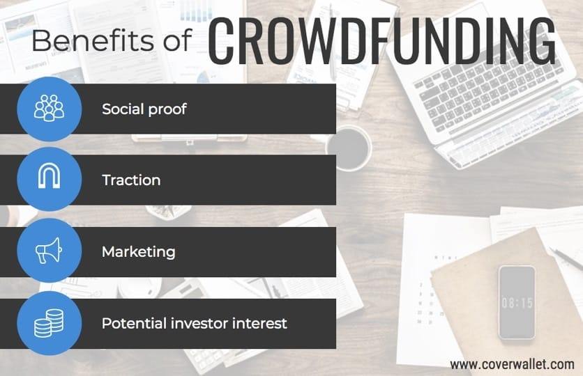 Benefits of crowdfunding for small businesses