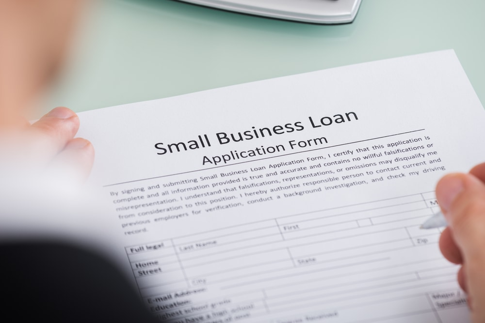Small business loans questions