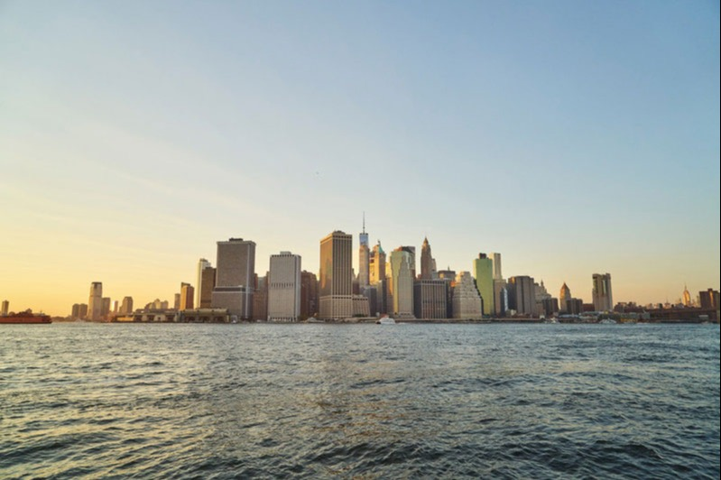 View the New York skyline by boat from 2,350 Avios