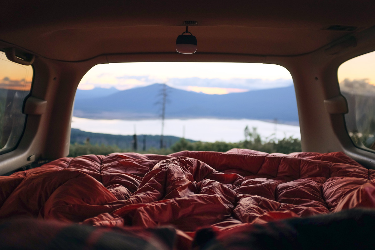 How to Build a Bed in Your Car, and Why You Need to Do It