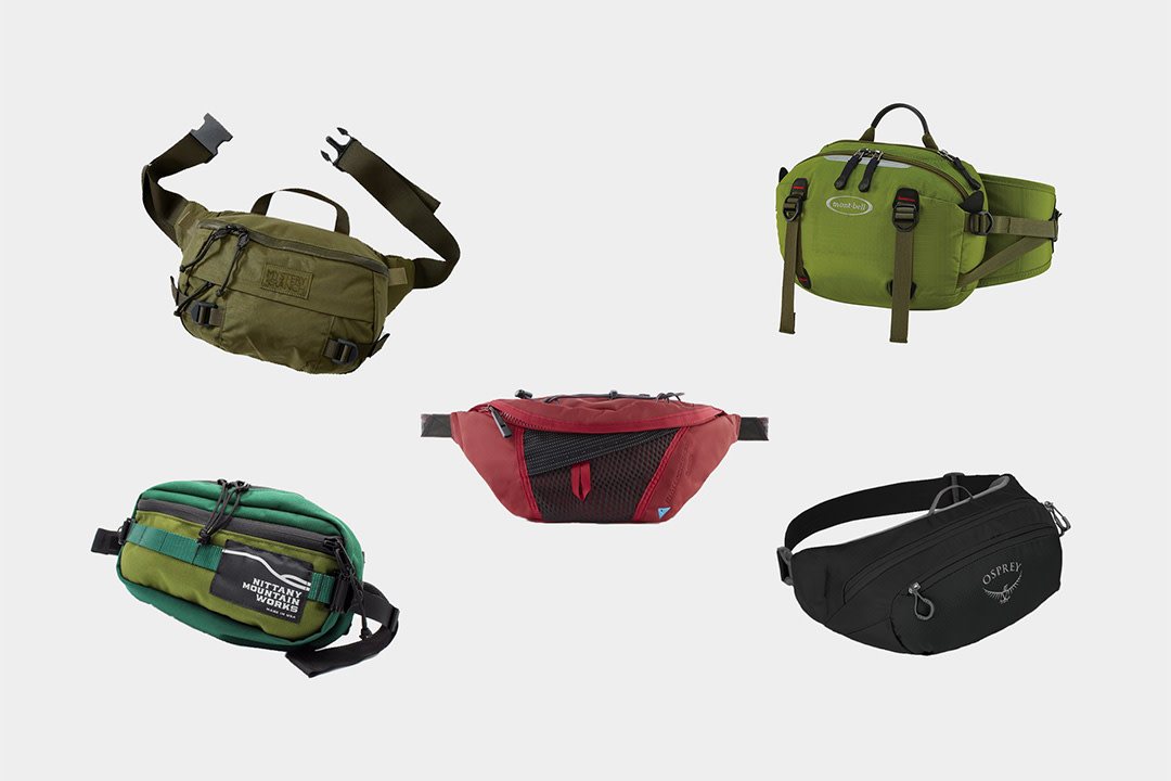 12 Best-Designed Hip Bags for EDC & Outdoor Adventures