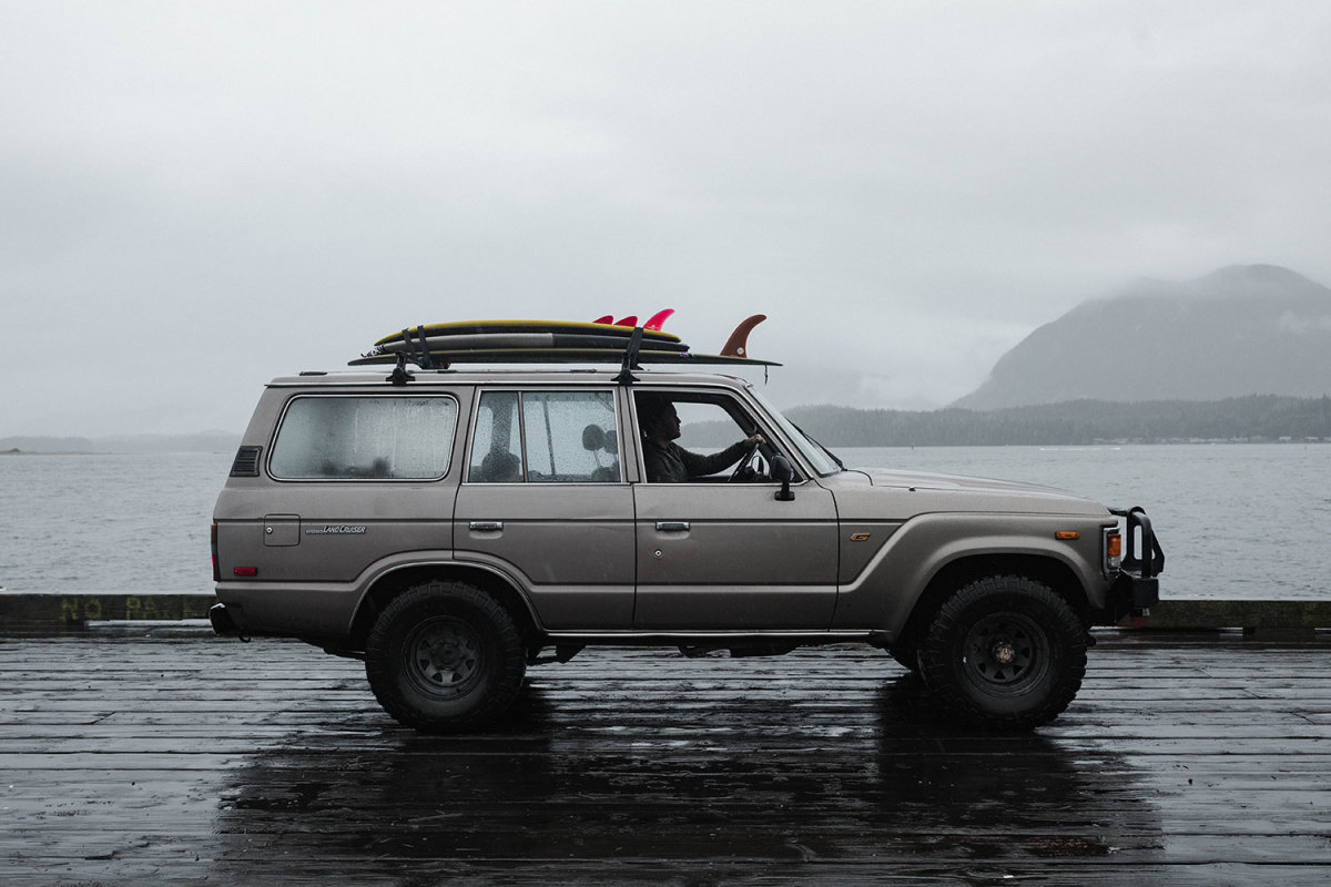 Exploring Tofino by Sea, Air, and Vintage Land Cruiser