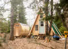 How to Build a DIY A-Frame Cabin for Around $8,000