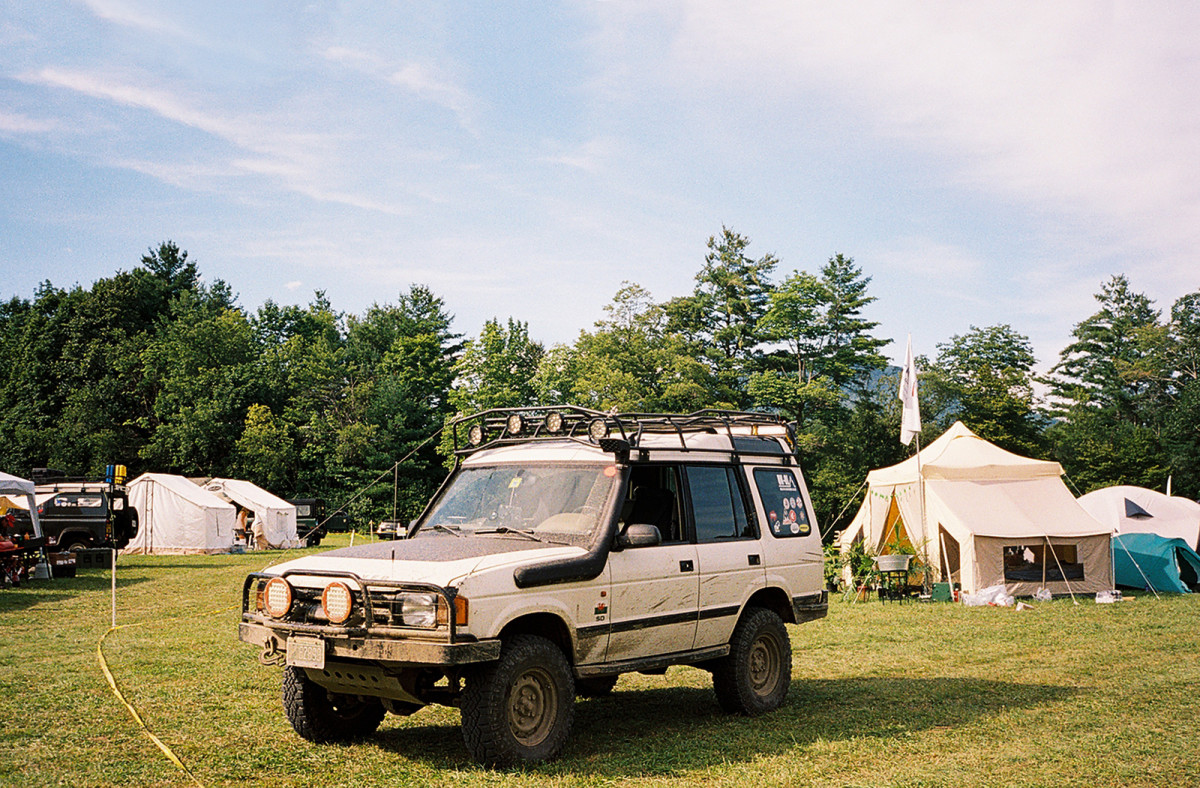 Vintage Land Rovers & the Muddy Chef Challenge Take Vermont