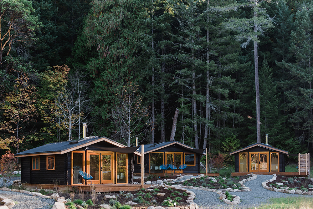 Bodega Cove Cabins Embrace Nature With Contemporary Design