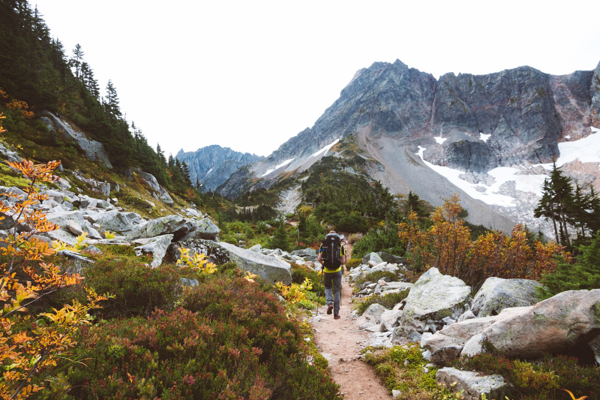 High Altitude Camping in North Cascades National Park