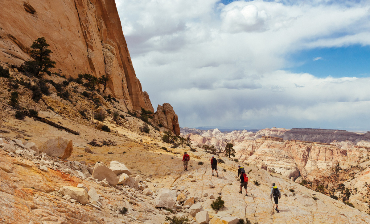 Canyoneering in Capitol Reef National Park, Utah