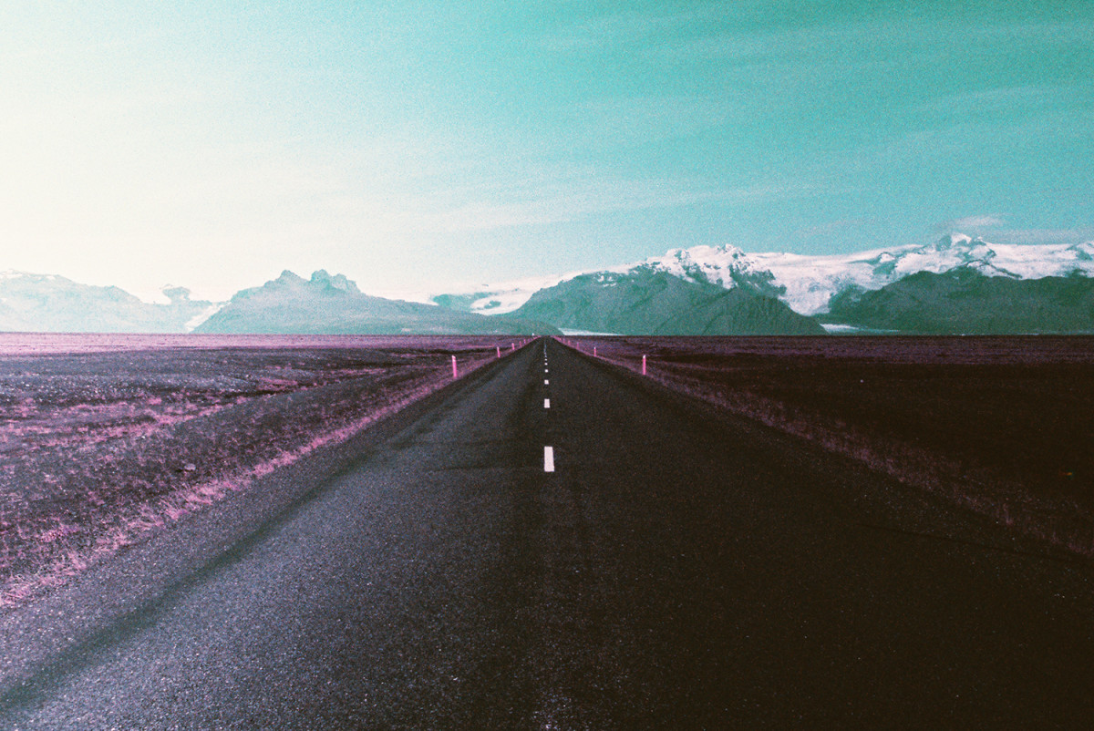A Visual Exploration of Iceland by Way of Lomochrome Purple Film