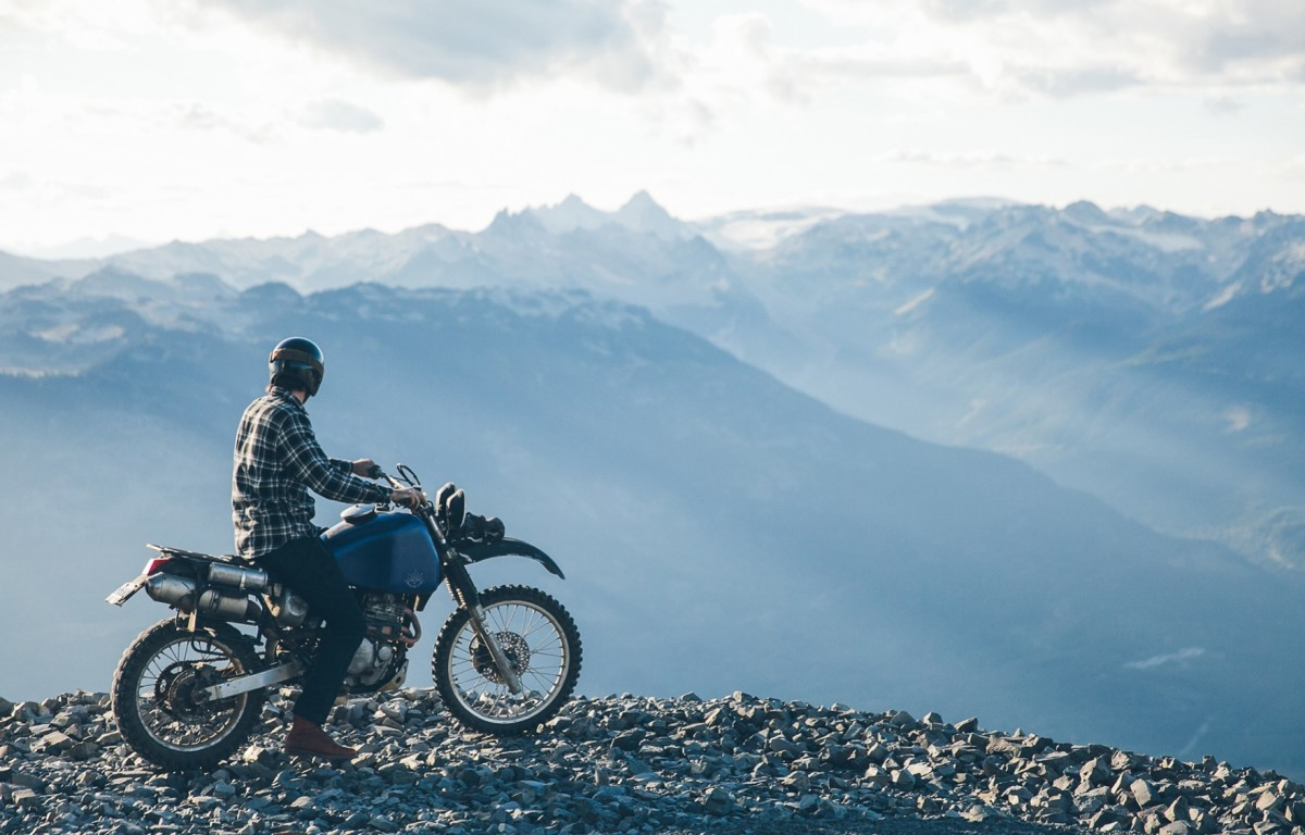 Long Weekend Backcountry Moto Camping in British Columbia