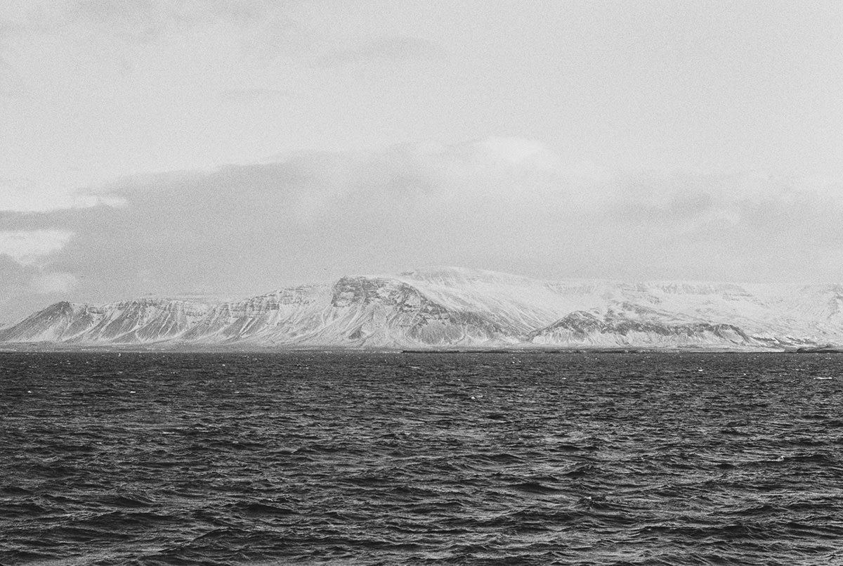 Iceland's Unforgiving Landscapes Captured on B&W Film
