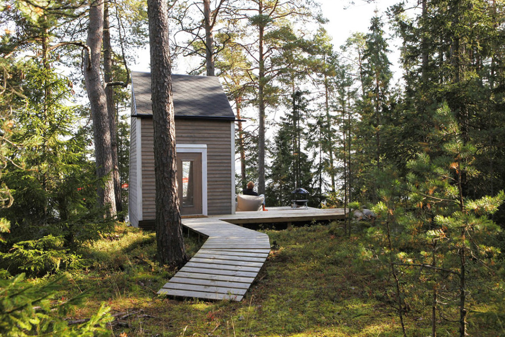 A 100-sq-ft Micro Cabin Built for $10,500 in Just 2 Weeks