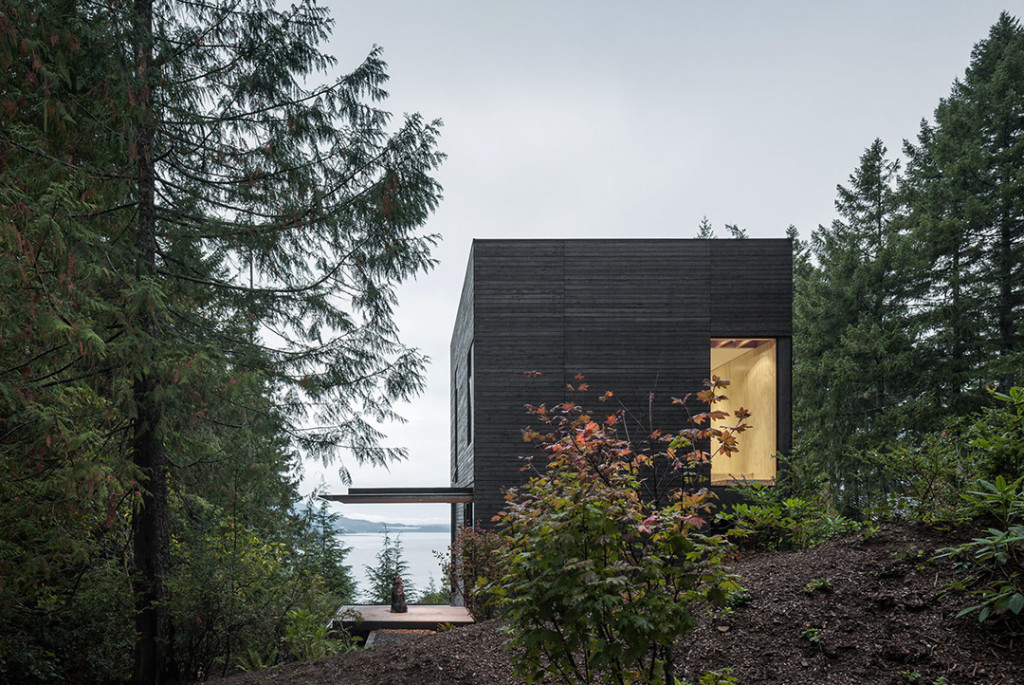 This Clever Cabin in Hood Canal, WA Outlives Its Little Footprint