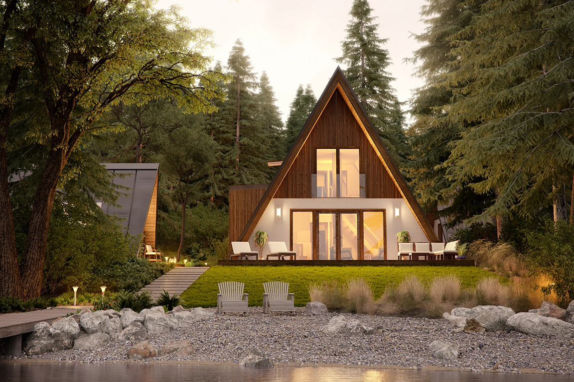 4 Cool A-Frame Cabin Kits & Prefab House Designs | Field Mag