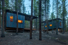 Student-Built Micro Cabins Introduce Youth to the Great Outdoors