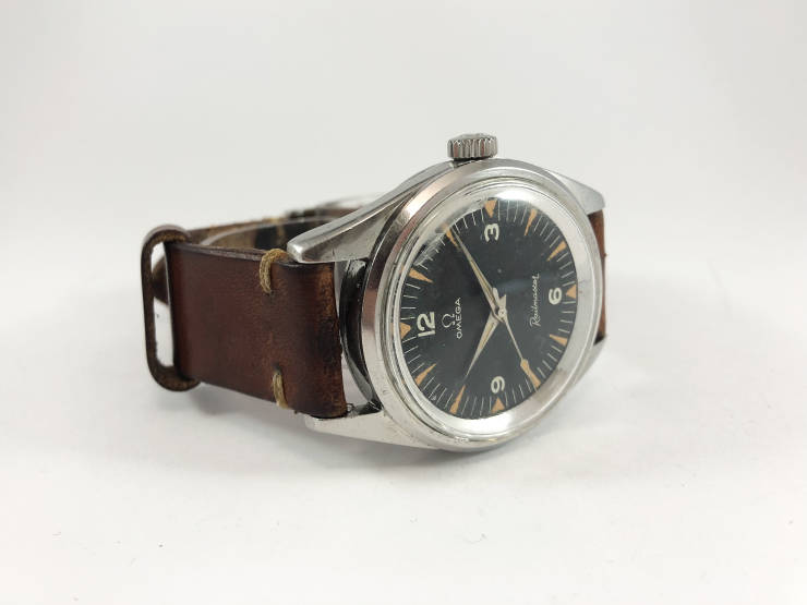 Omega Railmaster 135.004-63 - all original 1