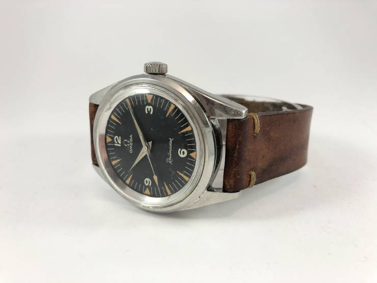 Omega Railmaster 135.004-63 - all original 2