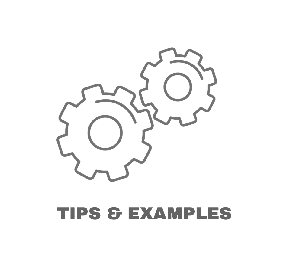 Tips-Examples