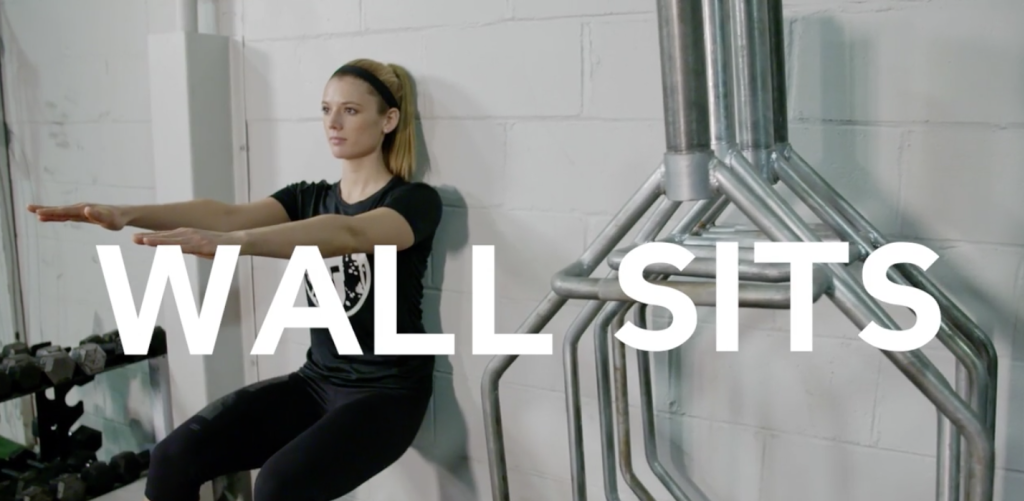 Workout of the Day Video | Wall Sits