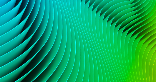 Green ombre paper background