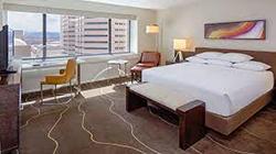Hyatt Denver Hotel Room!