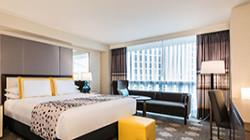 Caesars Hotel Room!