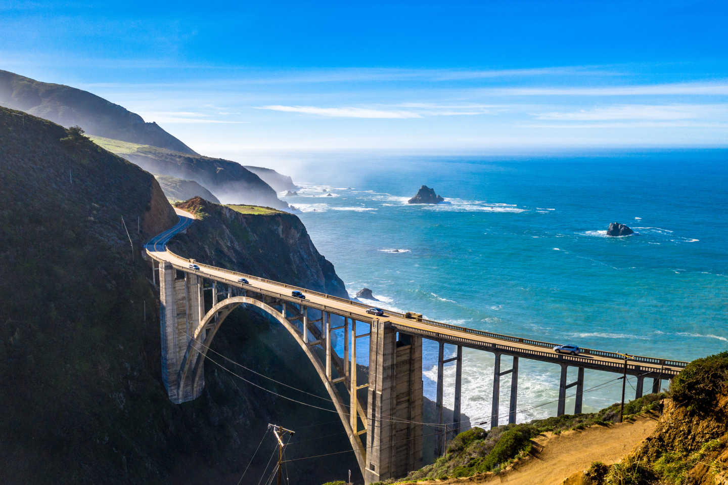 Discover the beauty of the Big Sur on a California tour