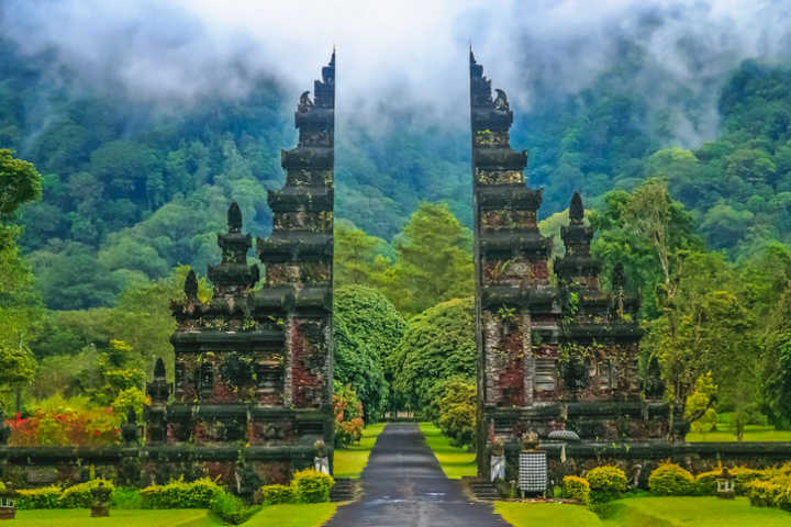 Beautiful temple ruin in Bali's jungle to visit during your Bali trip.