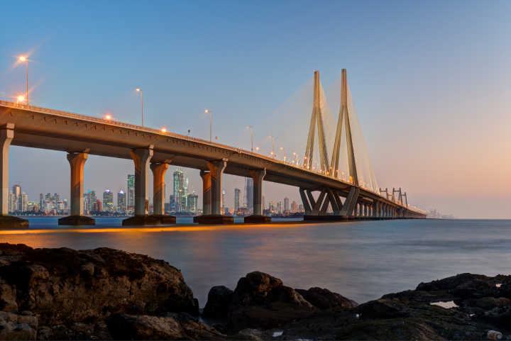 Discover the Sea Link bridge in Mumbai, India, on a Mumbai vacation