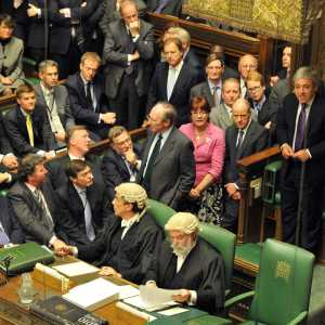 House of Commons Speaker John Bercow MP and the whips