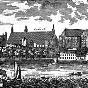 A sketch of the medieval Parliament