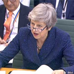 Theresa May, Liaison Committee session, House of Commons
