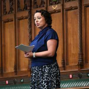 Catherine McKinnell MP speaking in the House of Commons, UK Parliament