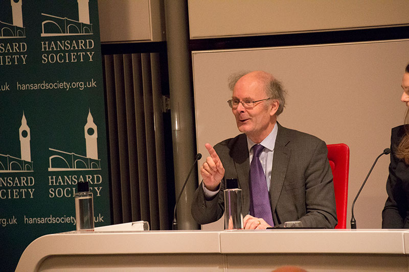 ProfessorSir John Curtice at the Britain Votes 2017 launch