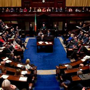 The first sitting of the Dail Eireann after the 2016 Northern Ireland elections.